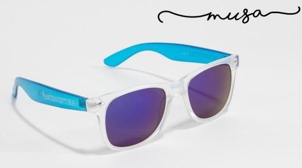 Óculos de Sol Quadrados Manhatan da Musaventura! Lente Espelhada com Proteção UV400!