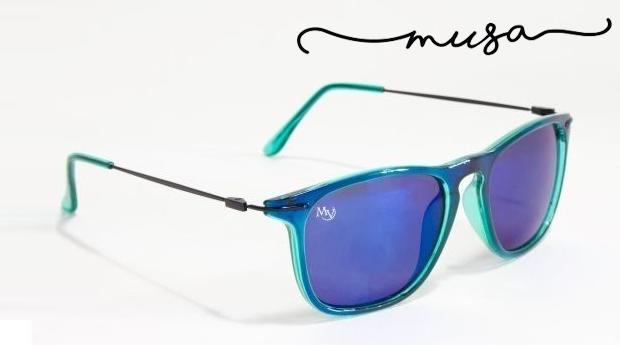 Óculos de Sol Madison da Musaventura! Lente Espelhada com Proteção UV400!