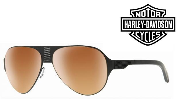 Óculos de Sol HARLEY DAVIDSON® Matte Dark Brow! Proteção UV 100% UVA e UVB!