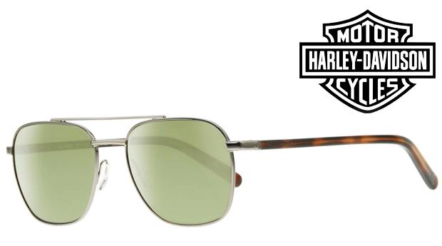 Óculos de Sol HARLEY DAVIDSON® Turttle Brown! Proteção UV 100% UVA e UVB!