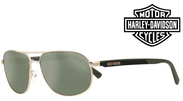 Óculos de Sol HARLEY DAVIDSON® Matte Black! Proteção UV 100% UVA e UVB!