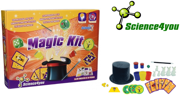 Super Novidade! Brinquedos Science4You Magic Kit!