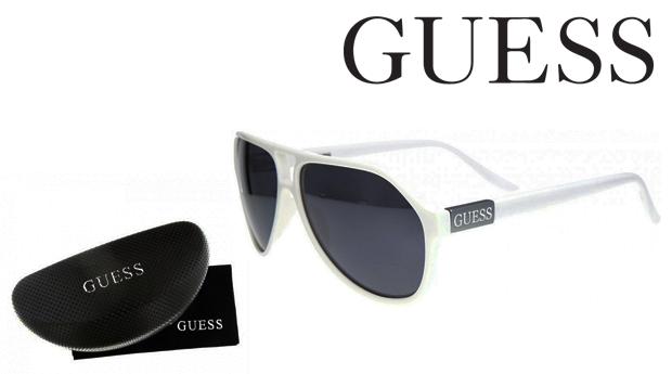 Óculos de Sol Guess® White! Proteção UV 100%!