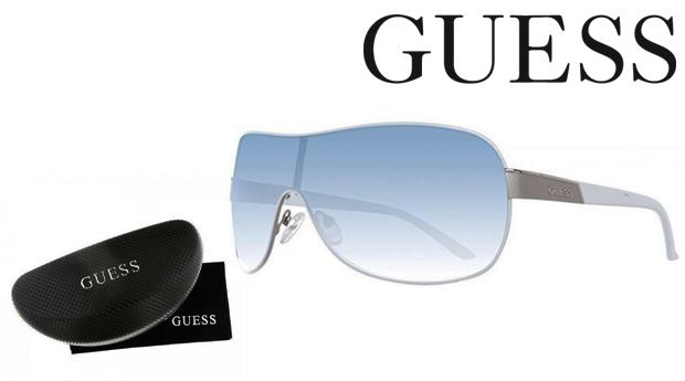 Óculos de Sol Guess® Silver White! Proteção UV 100%!
