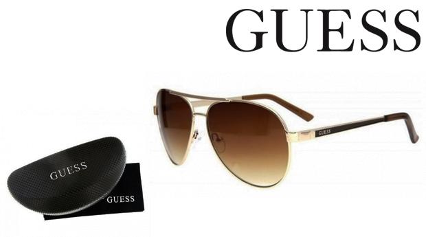 Óculos de Sol Guess® Golden! Proteção UV 100%!