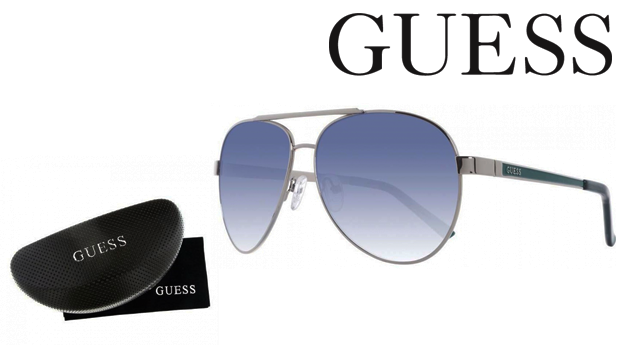 Óculos de Sol Guess® Green ou White! Proteção UV 100%!