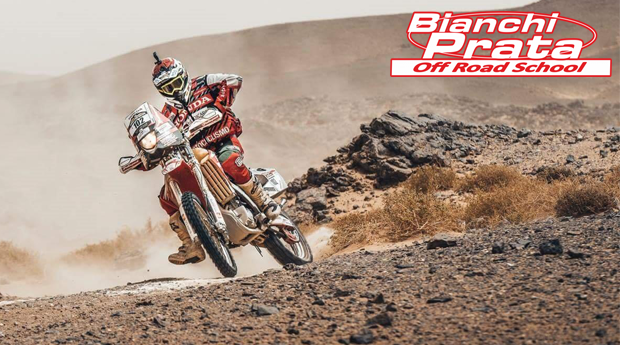 Test Drive Moto Bianchi Prata! A Mota Usada no Dakar 2016!