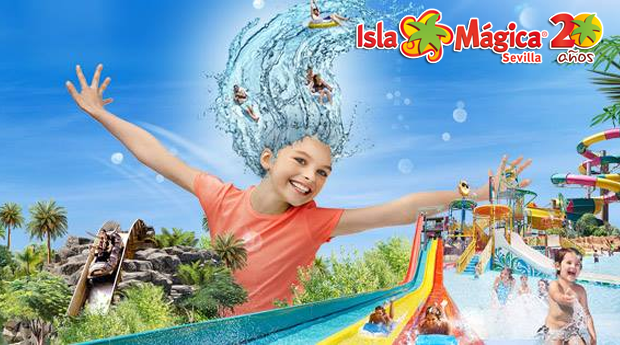 Água e Isla Mágica -  2 Noites nos Apartamentos ATH Domocenter 3* e Entradas de 1 Dia nos Parques!