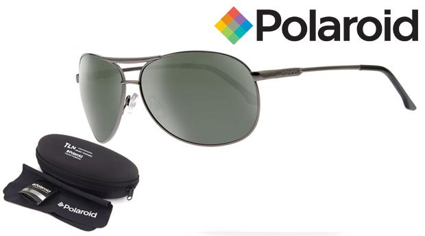 Óculos de Sol Polaroid® com Lentes Polarizadas e OFERTA de Chapéu! Entregas em 48 Horas!