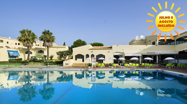 Alvor - Hotel Luna Clube Brisamar -  Reserve já com Tudo Incluído