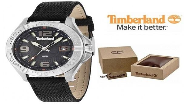 Relógio Timberland® Wallace Prateado