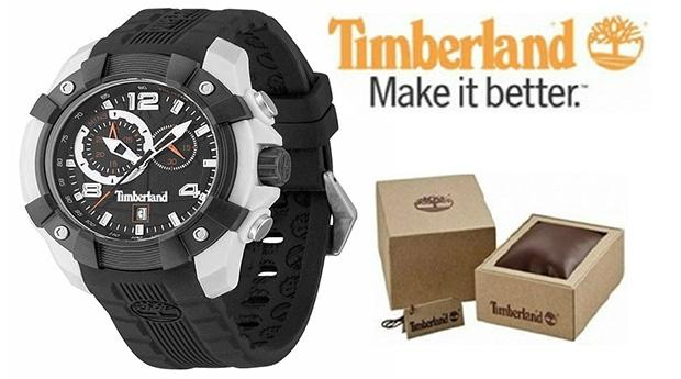 Relógio Timberland® Wheelwright Mostrador Preto