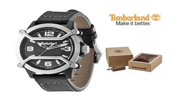 Relógio Timberland® Maplewood Preto
