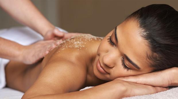 Esfoliação Orgânica com Massagem de Relaxamento no Templo de Gaya!