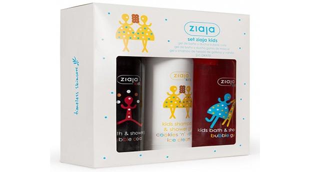 Kids Kit Geis de Cola, Goma e Baunilha com oferta Ziaja!