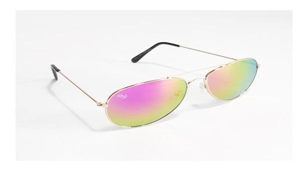 Óculos de Sol Aviator Oaklan Musaventura! Com Lentes Espelhadas Arco-íris Entregas em 10 dias!
