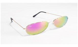 Óculos de Sol Aviator Oaklan Musaventura! Com Lentes Espelhadas Arco-íris  Entregas em 10 48fd3baa40