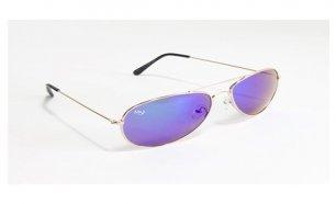 Óculos de Sol Aviator Oaklan Musaventura! Com Lentes Espelhadas Cor Roxa  Entregas em 10 dias 081d9fede3