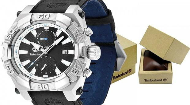 Relógio Timberland® Hookset Multifunções com Bracelete Preta