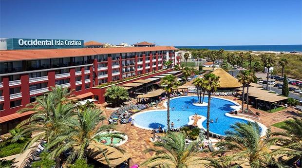 Isla Cristina -  Hotel Occidental 4* -  5 ou 7 Noites com Meia Pensão