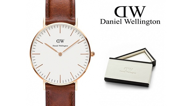 Relógio Daniel Wellington® Classic St. Mawes Rose Gold 36mm