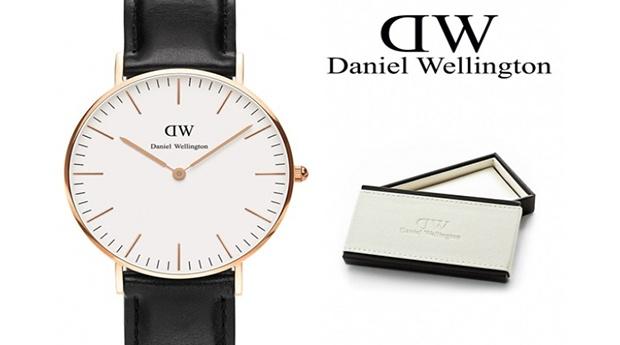 Relógio Daniel Wellington® Classic Sheffield Rose Gold 36mm