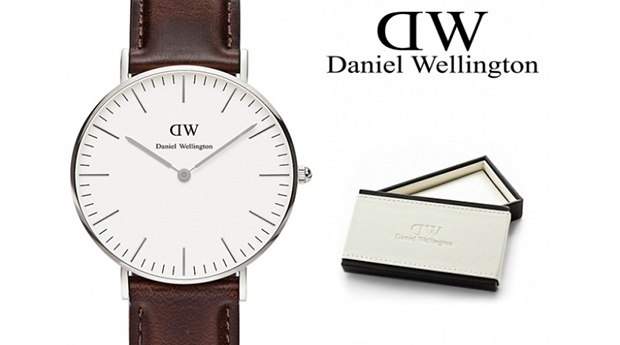 Relógio de Mulher Daniel Wellington® Classic Bristol Silver 36mm