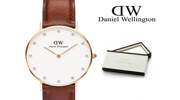 Relógio de Mulher Daniel Wellington® Classy St Mawes Crystals 34mm