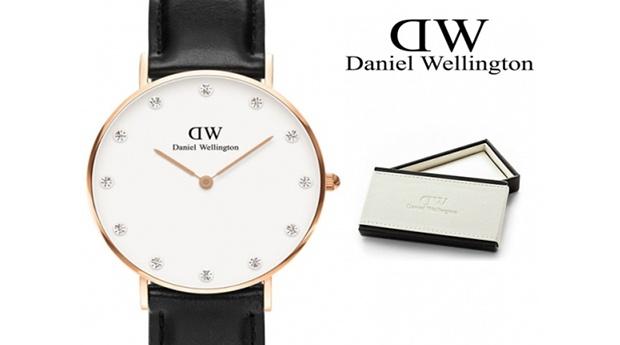 Relógio de Mulher Daniel Wellington®Classy Sheffield Crystals 34mm