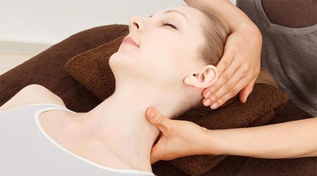 Pura tranquilidade: Massagem crânio-facial!