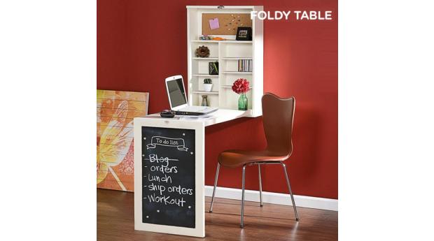 Secretária de Parede Dobrável Foldy Table W