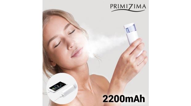 Atomizador Facial com Power Bank 2 em 1 Primizima