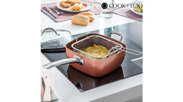 Frigideira Cerâmica com Acessórios Multi·Cook DLux