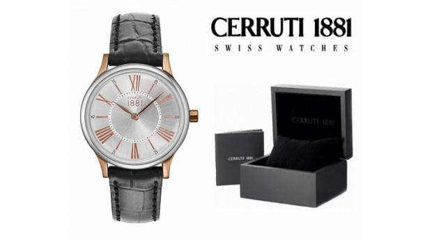 Relógio Cerruti 1881®  Preto e Rose Gold