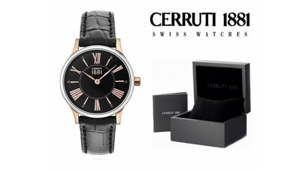 Relógio Cerruti 1881®  Siena Preto