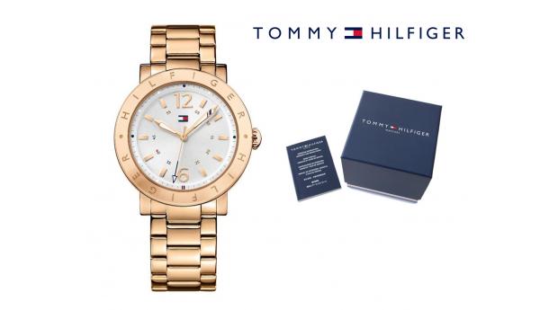 Relógio Tommy Hilfiger® Aubrey Silver Dial Rose Gold
