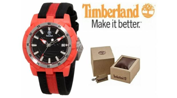 Relógio Timberland® Black & Red