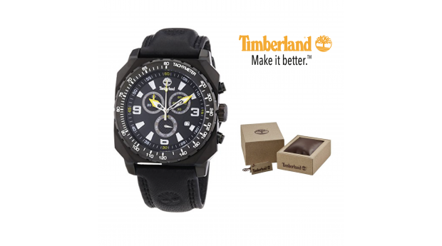Relógio Timberland® Stratham Black Chronograph