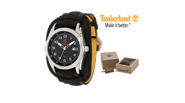 Relógio Timberland® Newmarket Black & Yellow