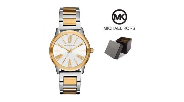 Relógio Michael Kors® Hartman Silver & Gold