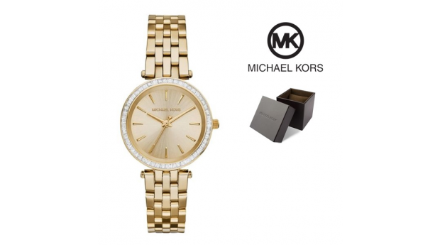 Relógio Michael Kors® Mini Darci Gold