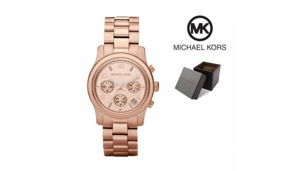 Relógio Michael Kors® Chronograph Rose Gold Dial