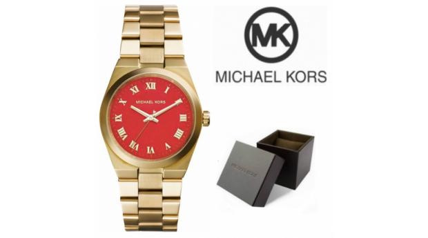 Relógio Michael Kors® Runway Orange Dial
