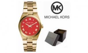 Relógio Michael Kors® Runway Orange Dial