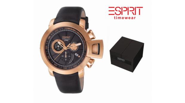 Relógio Esprit® Men`s Aeolus Rose Gold