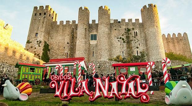 Óbidos Vila Natal no Hotel Água dAlma 3* -  Noite com Entradas na Vila de Natal!
