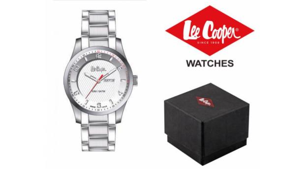 Black Week! Relógio Lee Cooper® LC-56G-F  -  5ATM