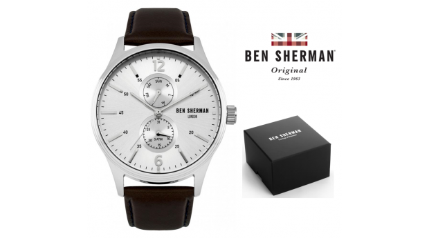 Black Week! Relógio Ben Sherman® London Original Since 1963 WB047BR I 3ATM