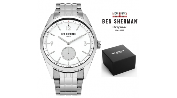 Black Week! Relógio Ben Sherman® London Original Since 1963 WB052SM I 3ATM
