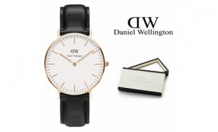Black Week! Daniel Wellington® Relógio Classic Sheffield Rose Gold | 3ATM